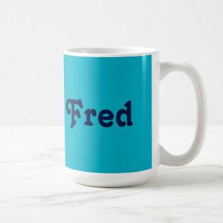 Mug Fred