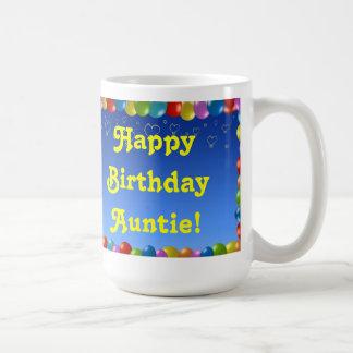 Mug Happy Birthday Auntie