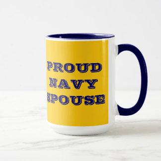 Mug Proud Navy Spouse