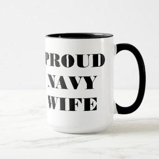 Mug Proud Navy Wife
