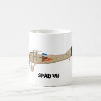Mug Squadron of hunting 02,003 Champagne - SPAD 7