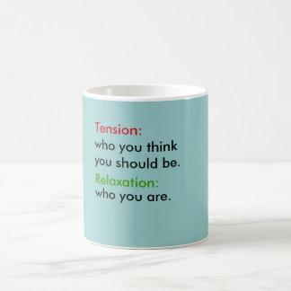 Mug - tension and relaxation