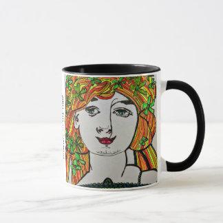 Mug Whimsical: Some Days I Wear Flowers in My Hair