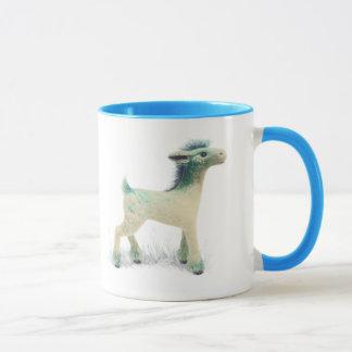 Mug with a fantasy deer