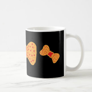 Mug with a green bows in  and black and orange