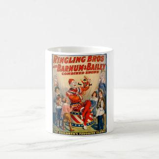 Mug with a Vintage Circus Poster
