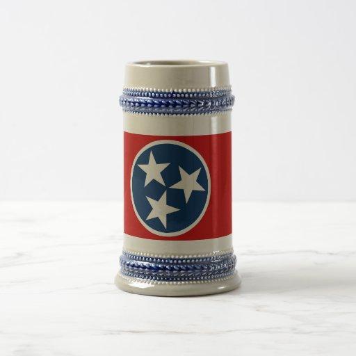 Mug with Flag of Tennessee State -USA