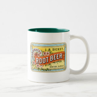 Mug with Vintage Root Beer Design