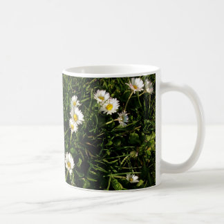 mug with wild flowers picture