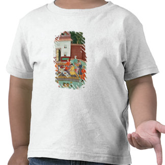 Mughal Emperor Feasting in a Courtyard T-shirt