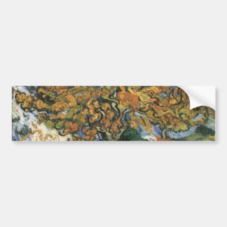 Mulberry Tree by van Gogh Bumper Sticker