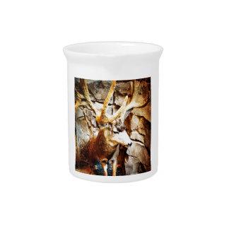 Mule Deer Pitcher