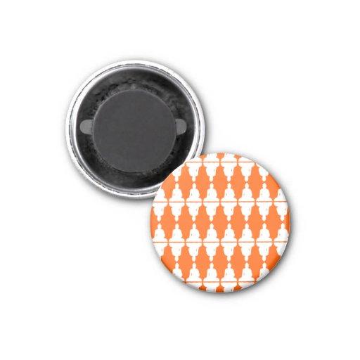 Multi-Buddha Fridge Magnet