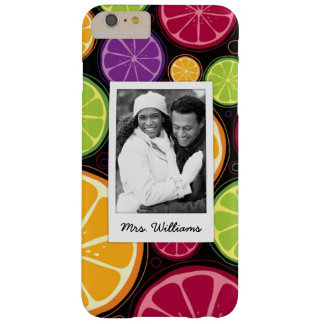 Multi Colored Citrus | Add Your Photo Barely There iPhone 6 Plus Case