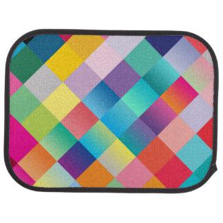 """""""Multi Colored Design"""" Floor Mat"""