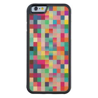 Multi Colored Design Maple Wood Maple iPhone 6 Bumper