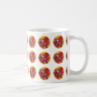 Multi Coloured Spotty Mug