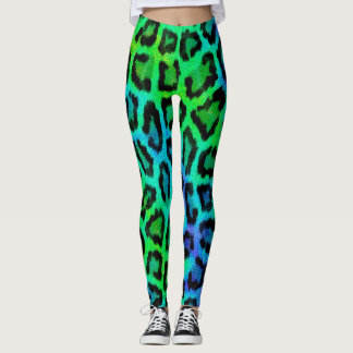 Multicolor Cheetah Leggings