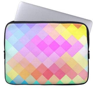 Multicolor Chevron Seamless Pattern 2 Computer Sleeve