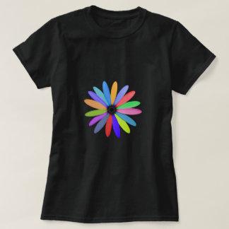 multicolor flower T-Shirt
