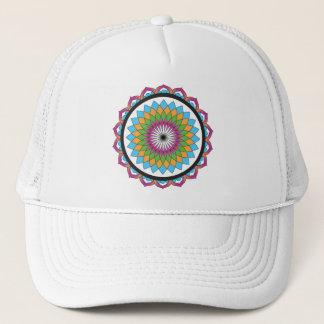 Multicolor Lotus Trucker Hat