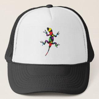 Multicolor Paisley Gecko Trucker Hat