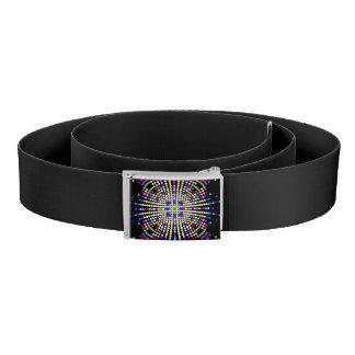 Multicolor patterns belt