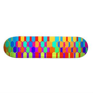 MultiColor Custom Skate Board