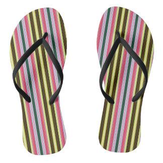 Multicolor Stripes Jandals