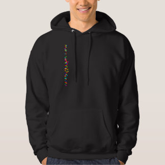 Multicolored against right force hoodie