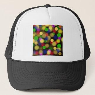 Multicolored Dots Trucker Hat