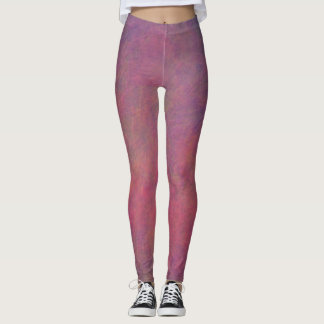 Multicolored Leggings - Pinks Purples
