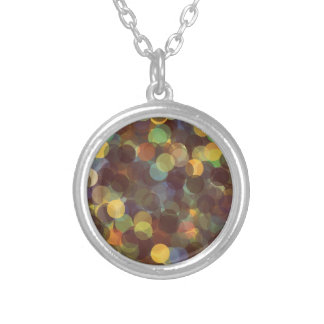 Multicolored Rays of Light Pattern Necklace
