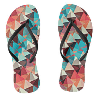 Multicolored Triangles Jandals