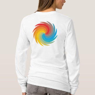 multicolored whirling disk T-Shirt