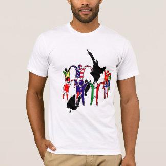Multicultural NZ Design T-Shirt