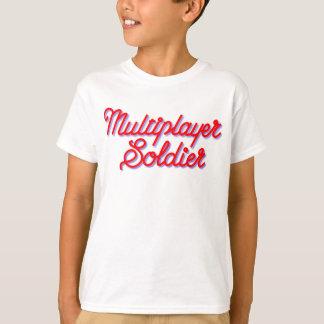 Multiplayer Soldier kids White t-shirt