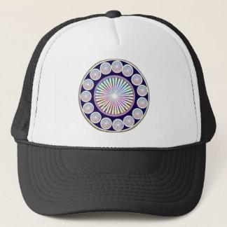 Multiple CHAKRA  -  Sparkle n Live Mandala Trucker Hat