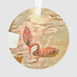 Multiple ducks ornament