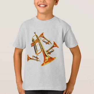 Multiple Trumpets T-Shirt