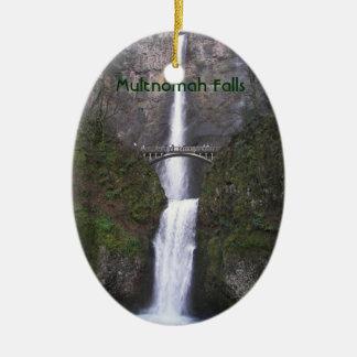 Multnomah Falls, Oregon Ceramic Ornament
