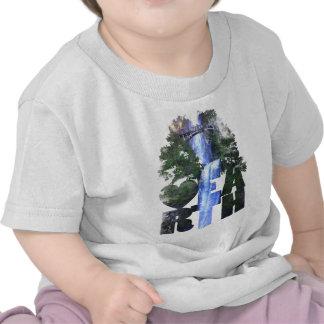 Multnomah falls t shirt