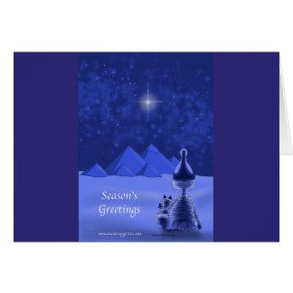 Mummific Season's Greetings Greeting Card