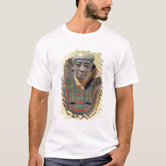 Mummy mask, from Mirgissa (stuccoed and painted pl T-Shirt
