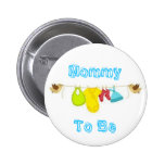 Mummy To Be Button