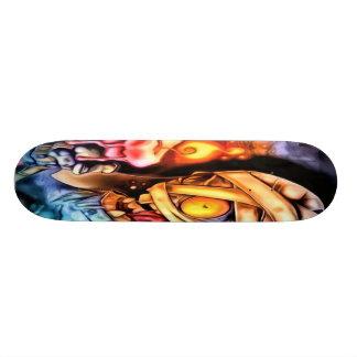 Mummy Zombie Skateboard