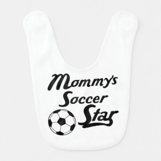 Mummy's Soccer Star Bib