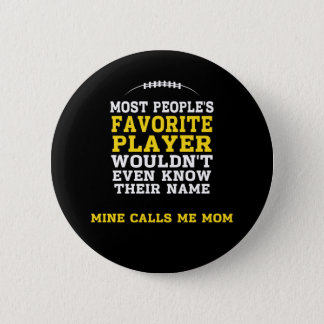 Mum's Favourite Football Player Black & Gold