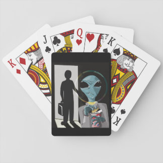 Munchies - UFO Humor Playing Cards