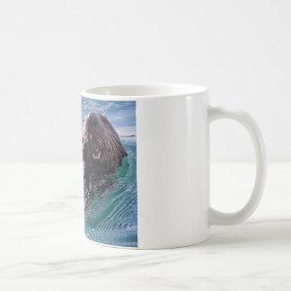 Munching Sea Otter Coffee Mug
